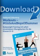 Workouts Girls and Boys of Summer - Bodyweight-Training Kl. 8-13