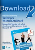 Workouts Simple and Hard - Bodyweight-Training Kl. 8-13
