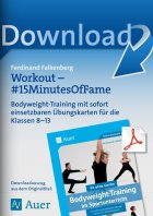 Workouts 15 Minutes of Fame - Bodyweight-Training  Kl. 8-13