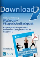 Workouts Sixpack and Backpack - Bodyweight-Training  Kl. 8-13