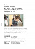 Filmarbeit zum Thema parent-child relationships an the digital age