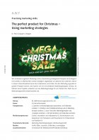 The perfect product for Christmas - Using marketing strategies
