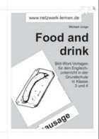 Bild-Wort-Vorlagen: Food and drink