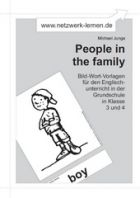 Bild-Wort-Vorlagen: People in the family