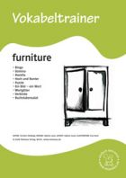 Vokabeltrainer: Furniture