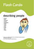 Bildkarten: Describing people