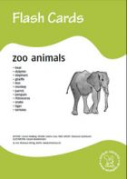 Bildkarten: Zoo animals