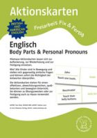 Aktionskarten: Body Parts & Personal Pronouns