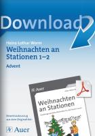 Advent - Weihnachten an Stationen Klasse 1/2