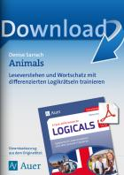 Animals - differenzierte Logicals Englisch Kl. 5-6