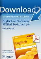 Around Britain - Englisch an Stationen Textarbeit