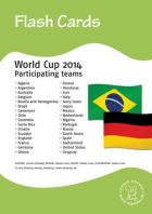 Bildkarten: Worldcup 2014 Participating teams