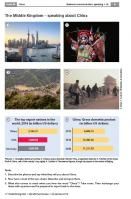 China at a glance - country fact sheets