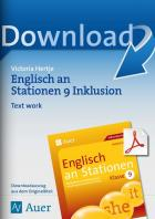 Englisch an Stationen inklusiv Kl. 9 - Text work