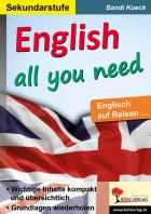 English all you need - Englisch auf Reisen