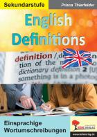 English Definitions
