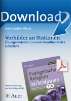 Ev. Religion an Stationen 7-8: Vorbilder