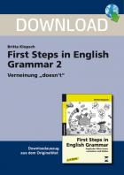 First Steps in English Grammar 2