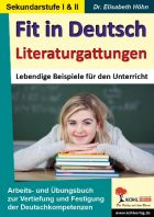 Fit in Deutsch / Literaturgattungen