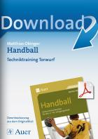 Handball: Techniktraining Torwurf