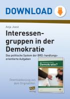 Interessengruppen in der Demokratie
