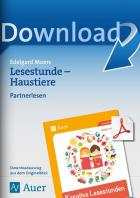 Kreative Lesestunde: Haustiere