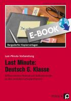 Last Minute: Deutsch 6. Klasse