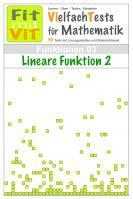Lineare Funktion (2) - Vielfachtests