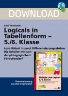 Logicals in Tabellenform - Klasse 5/6