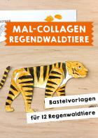 Mal-Collagen: Regenwaldtiere