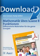 Mathematik differenziert üben Klasse 8: Funktionen