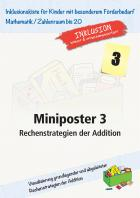 Miniposter 3: Rechenstrategien der Addition