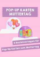Muttertag  - Pop-Up-Karten