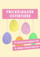 Ostertiere - Prickbilder