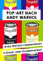 Pop-Art nach Andy Warhol