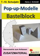 Pop-up-Modelle - Bastelblock