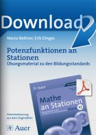 Potenzfunktionen - Mathe an Stationen
