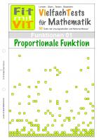 Proportionale Funktion - Vielfachtests