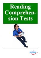 Reading Comprehension Tests (Schullizenz)