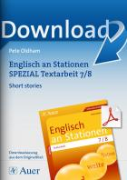 Short stories -  Englisch an Stationen Textarbeit
