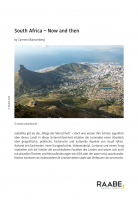 South Africa - Now and then