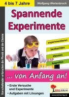 Spannende Experimente von Anfang an