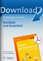 Handball und Basketball  - Sport an Stationen 3/4