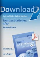 Sport an Stationen 9/10 - Aerobic/ Fitness