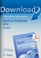 Sport an Stationen 9/10 - Handball