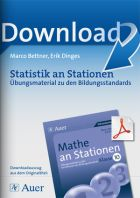 Statistik - Mathe an Stationen