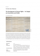 The Development of Human Rights