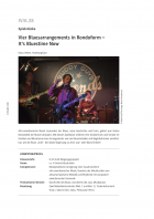 Vier Bluesarrangements in Rondoform