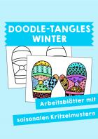 Winter: Doodle-Tangles