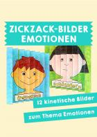 Zickzack-Bilder: Emotionen